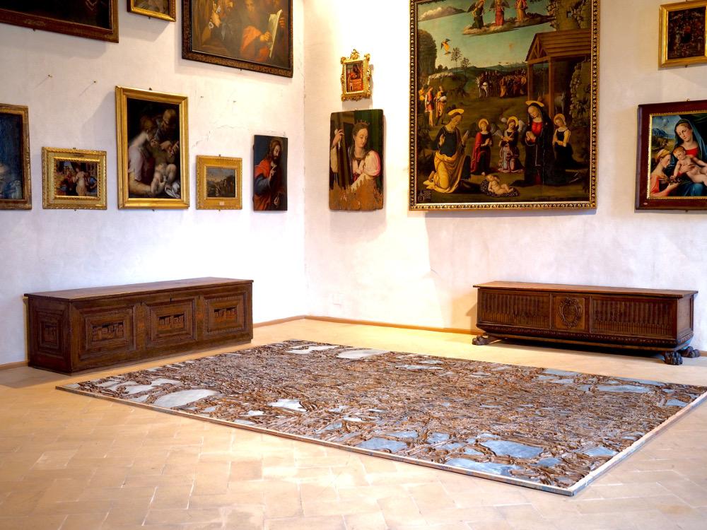 Soichiro Shimizu's exhibition in Spoleto
